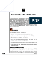 Homeostasis the Steady State