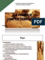 A-Emergence de La Finance Comportementale