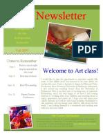 Art Newsletter