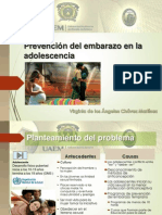 C-13 Prevencion Del Embarazo en La Adolescencia