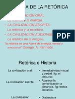 (1) HISTORIA DE LA RETÓRICA
