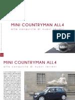 Mini Countryman All4, alla conquista di nuovi terreni