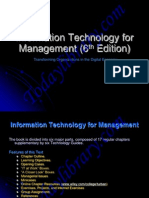 Information Technology for Management (6th Edition)