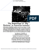 Supplementary Reading-Beginning of Big Business in America