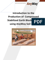 Introduction to the Production of CSEB Using AnyWay Soil Block Last Updated 20121