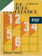 E.rogaI - Tabele Si Formule Matematice
