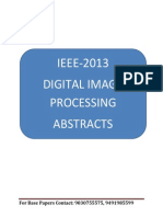 Vision Tek Ieee 2013 Dip Projects