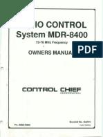 System MDR 8400
