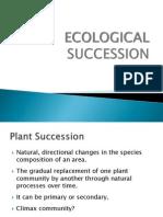 Ecology Lec7 Ecological Succession