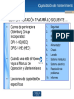 Capacitación de mantenimiento (DPI-1-HE_HED y DPIS-1-HE_HED)