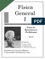 FÍSICA GENERAL I (GUIA DE EJERCICIOS Y PROBLEMAS) - DIEGO ARANEO