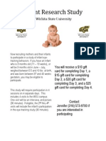 Infant Research Study