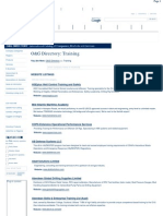 Oil & Gas Directory - Training