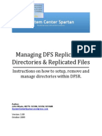 How to Install Manage Dfsr