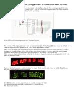 LED Messaging Waver