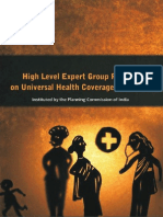 Planning Commission Report on Universal Health Coveraga