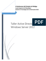 Pasos Taller Active Directory