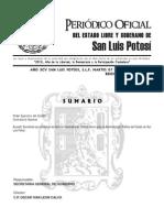 Normas Grales Control Interno APE SLP