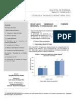 Cordoba Pobreza 2012