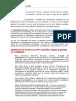 Tema i Elementos Que Componen La Mezcla de Comunicacion y Promocion