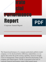 Corporate Financial Performance Report