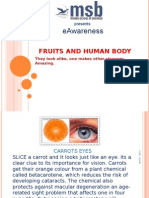 Fruits and Human Body