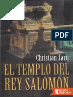 El templo del rey Salomon - Christian Jacq.epub