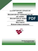 Des Cep Monde Edition 2009