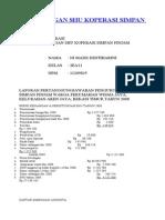 Perhitungan Shu Koperasi Simpan Pinjam