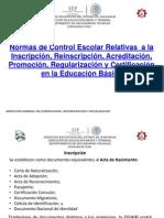NORMAS DE ACREDITACIÓNpara reunión