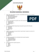 Contoh soal cpns sejarah nasional indonesia
