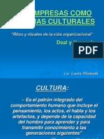 Las Empresas Como Sistemas Culturales