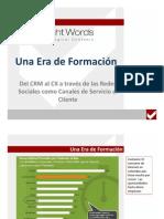 Servicio al Cliente a través de las Redes Sociales - Del CRM al CX