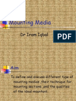 Mounting Media by Dr Iram