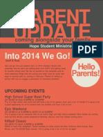 January Parent Newsletter