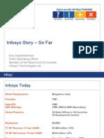 Infosys Story So Far
