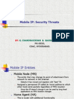 Mobile IP Survey