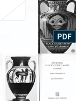 J. Boardman - Athenian Black Figure Vases (Book)
