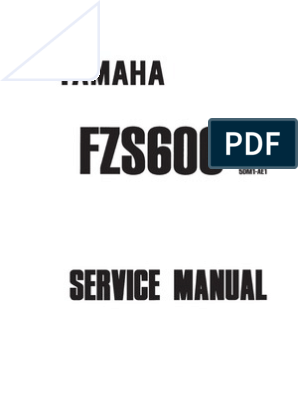 CC Yamaha FZS 600 N Fazer 1998 Oil Drain Sump Bolt Washer