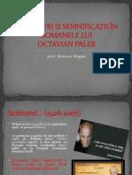 Simboluri Si Semnificatii in Romanele Lui Octavian Paler