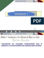 Unidad I - I
