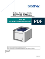 Brother HL-4040cn 4050cdn 4070cdw Service Manual