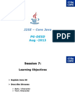 J2SE - Core Java - PG-DAC - Session- 7v2
