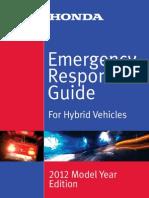 Procedure Emergenza Honda Ibride