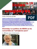 Noticias Uruguayas Viernes 24 Enero Del 2014