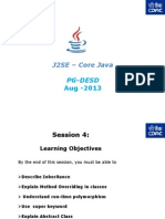 J2SE - Core Java - PG-DAC - Session 4v1