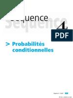 ES Maths- CNED, Sequence 4 Probabilites conditionnelles