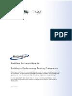 Building a Performance Testing Framework