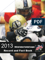 IFL Record and Fact Book 2013