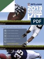 2013 NFL Media Kit